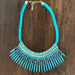 Baublebar turquoise spike necklace